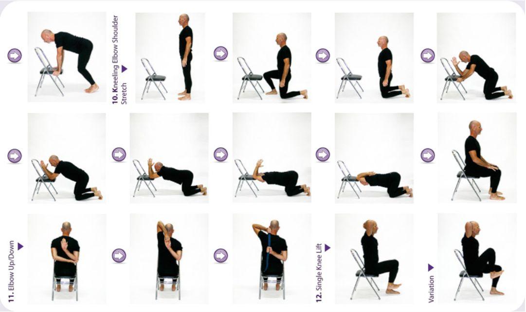 Printable Senior Chair Exercises