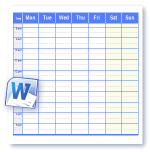 6 Images of Free Printable Office Forms Schedules