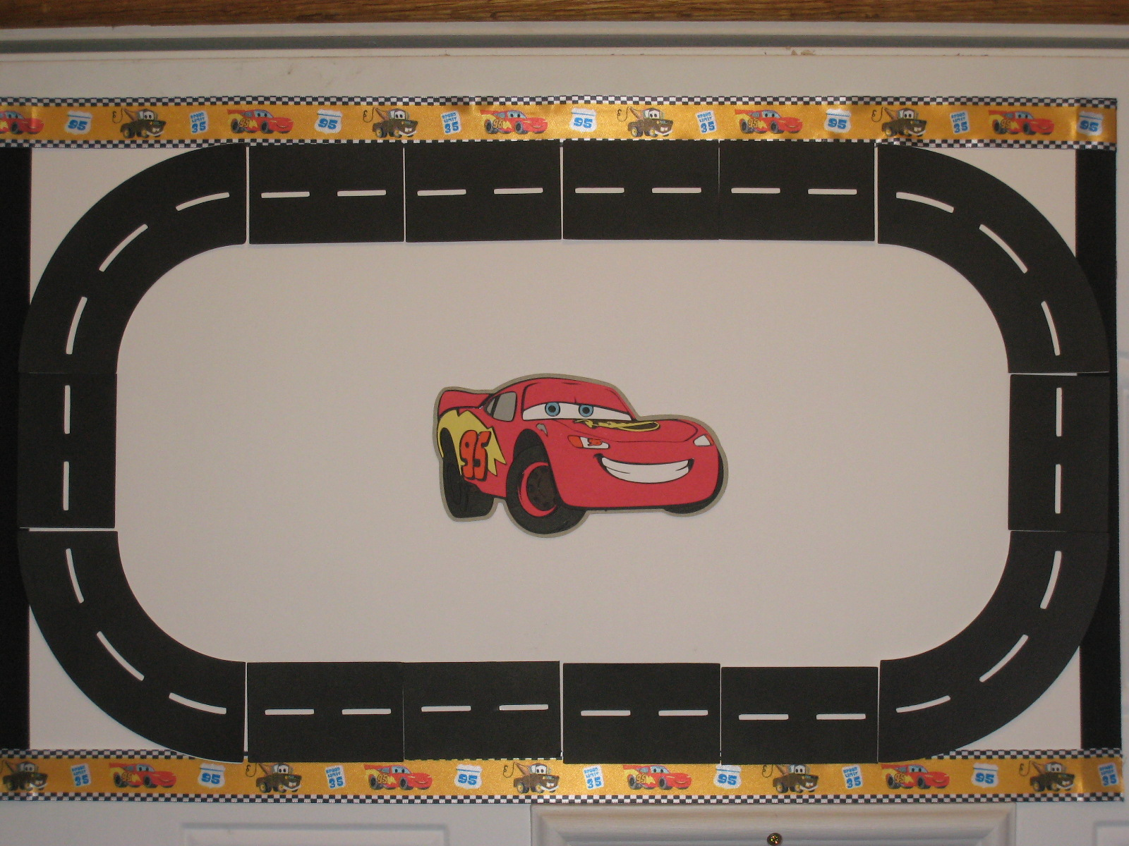 5 best images of printable race track