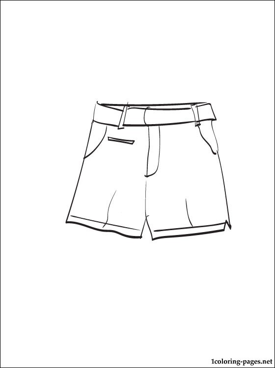 5 Best Images Of Shorts Clothes Printable Shirts And Pants For Template For Paper Dolls Shorts Coloring Page And Free Printable Ken Doll Clothes Sewing Patterns Printablee Com