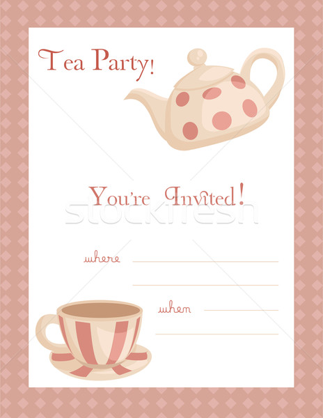 9 best images of free printable tea party flyers tea party invitation template tea party