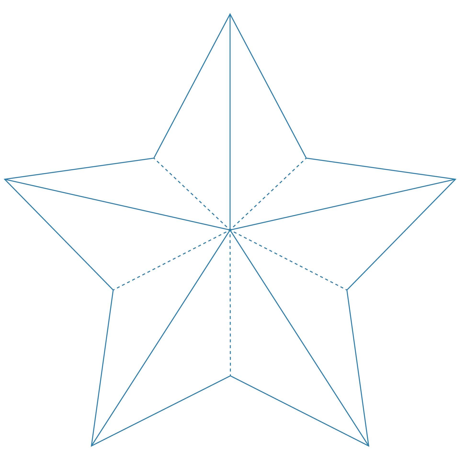 5 Point Star Pattern