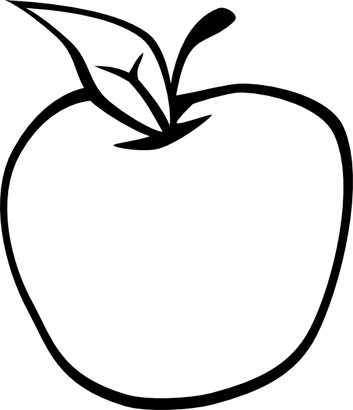 5 Images of Free Printable Apple Clip Art