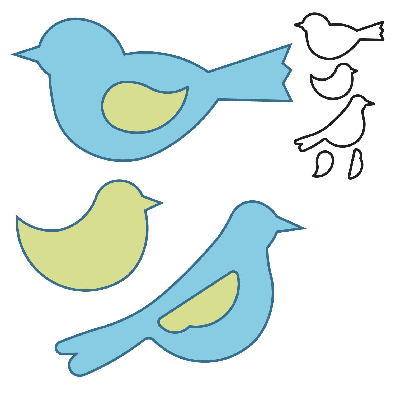 7 Images of Free Printable Bird Patterns