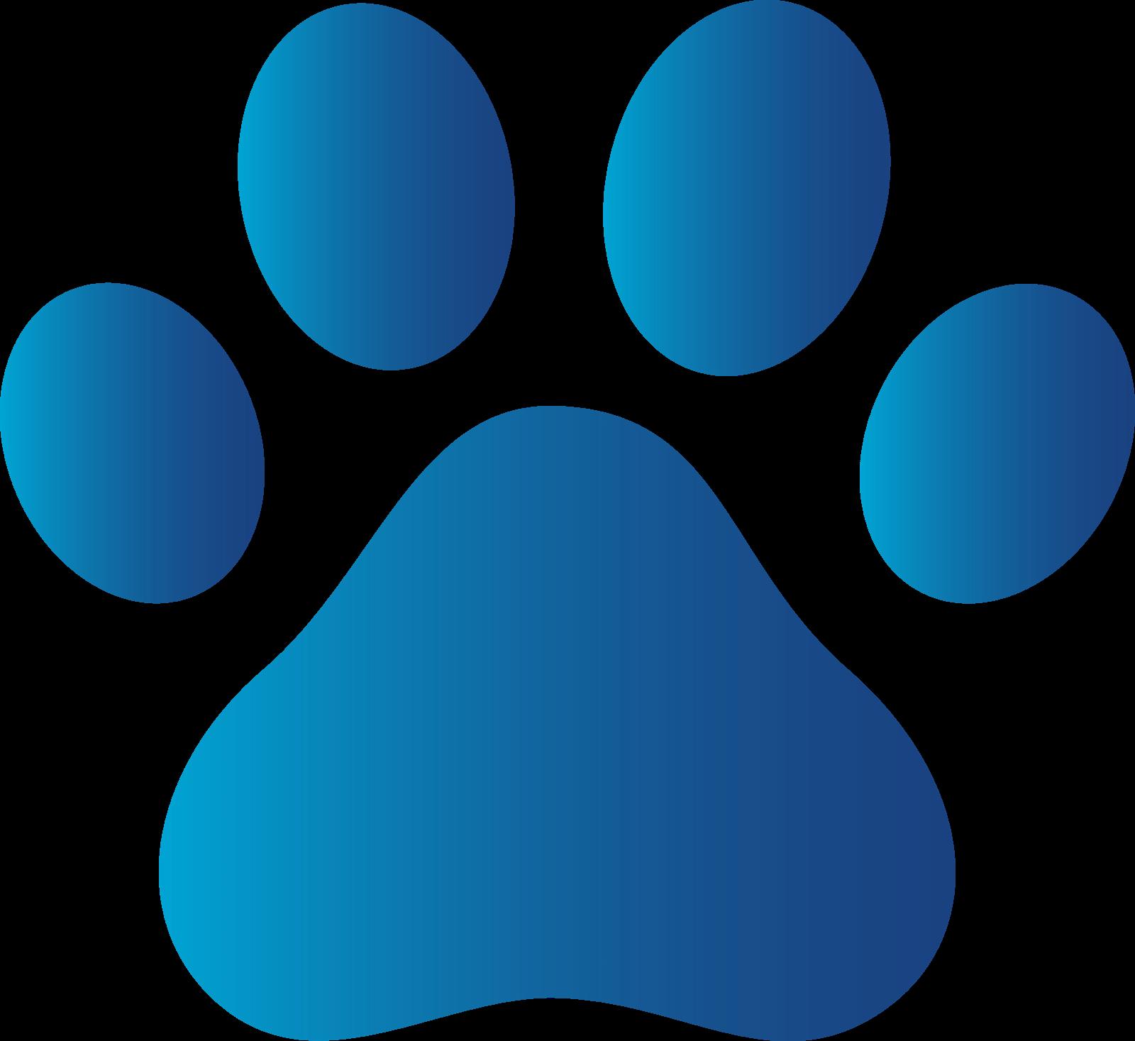 7 Images of Printable Dog Paw Prints