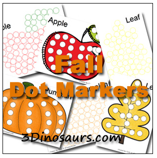 4 Images of Fall Dot To Dot Printables Free