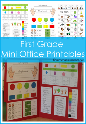 5 Images of 1st Grade Printable Books