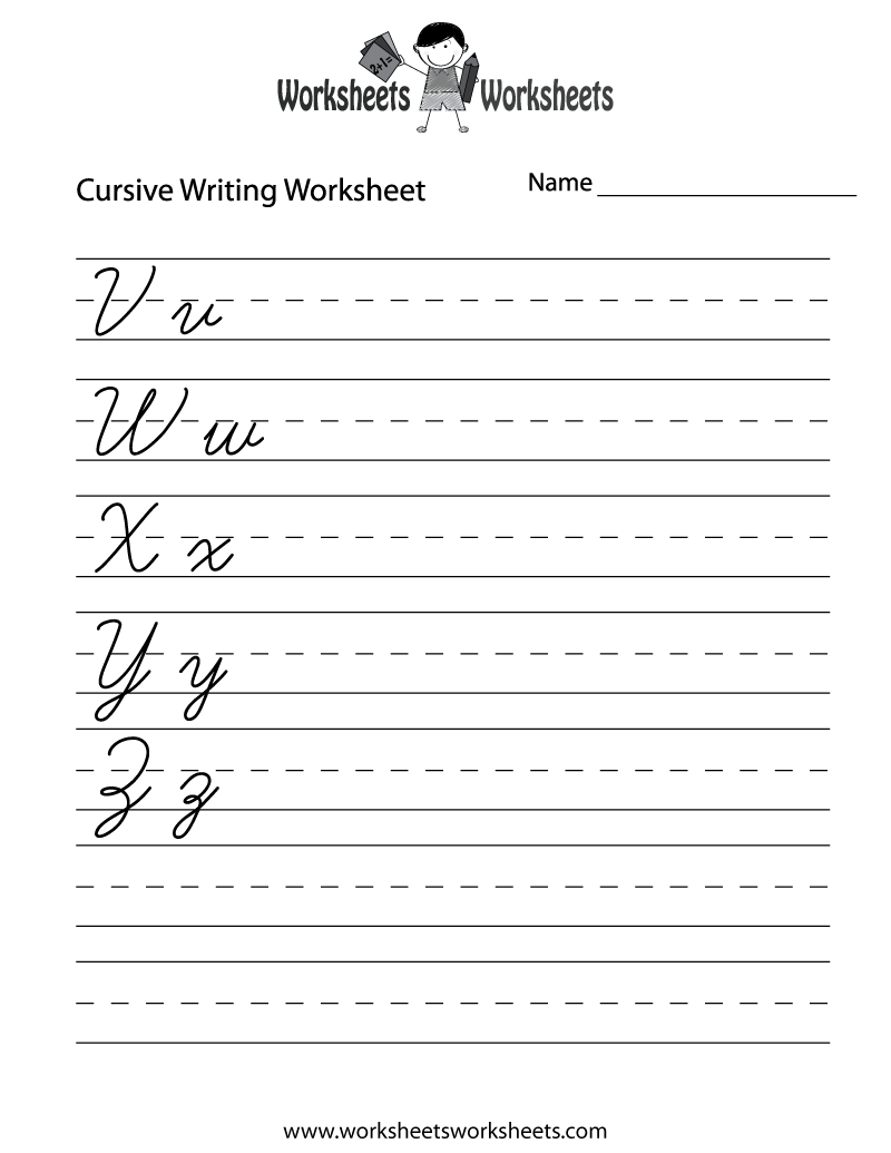 Worksheet Alphabet Cursive Writing Worksheets cursive writing chart printable worksheets 1000 ideas about 6 best images of free alphabet worksheets