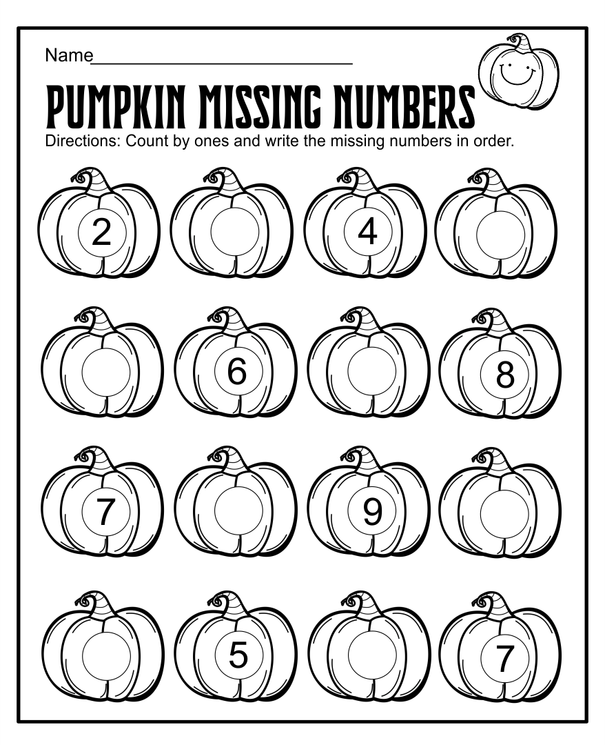Free Halloween Counting Worksheets Kindergarten Halloween Comstume – Halloween Addition Worksheets