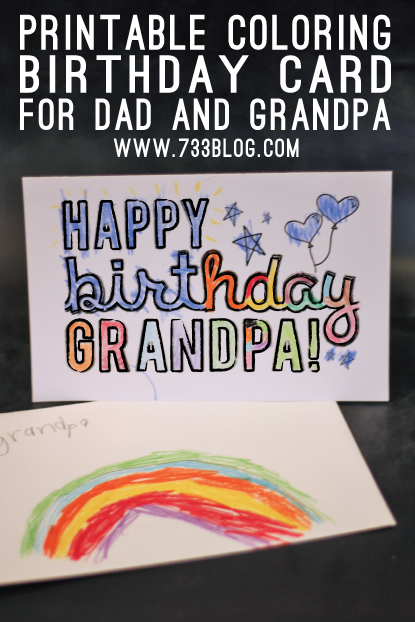 Printable Birthday Cards Foldable For Dad ebiznesinfo – Birthday Cards for Dad Printable