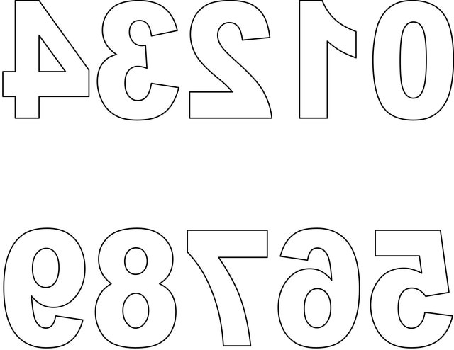 how to draw block letters and numbers