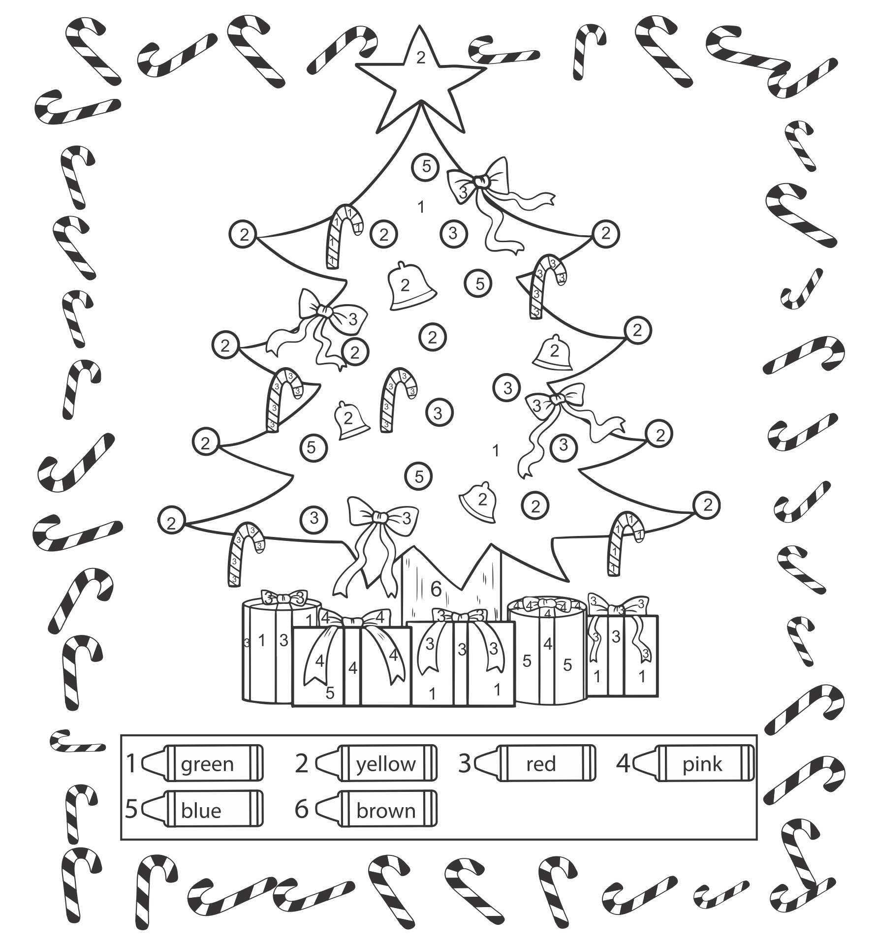 6 Best Images Of Christmas Printables And Preschool Worksheets - Free  Printable Christmas Worksheets Preschool, Preschool Christmas Activities  And Free Preschool Christmas Activities Printables / Printablee.com