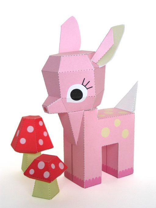 Free Printable Cute Paper Toys