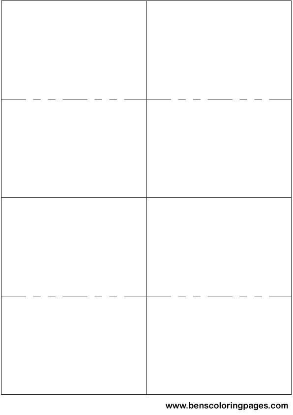 flashcard template modern bio resumes