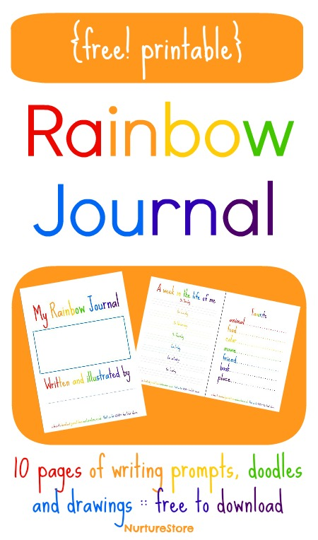 Free Printable Journal Writing Pages for Kids
