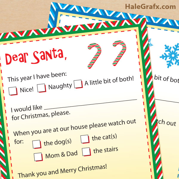 8 Images of Santa Claus Free Printable Letters