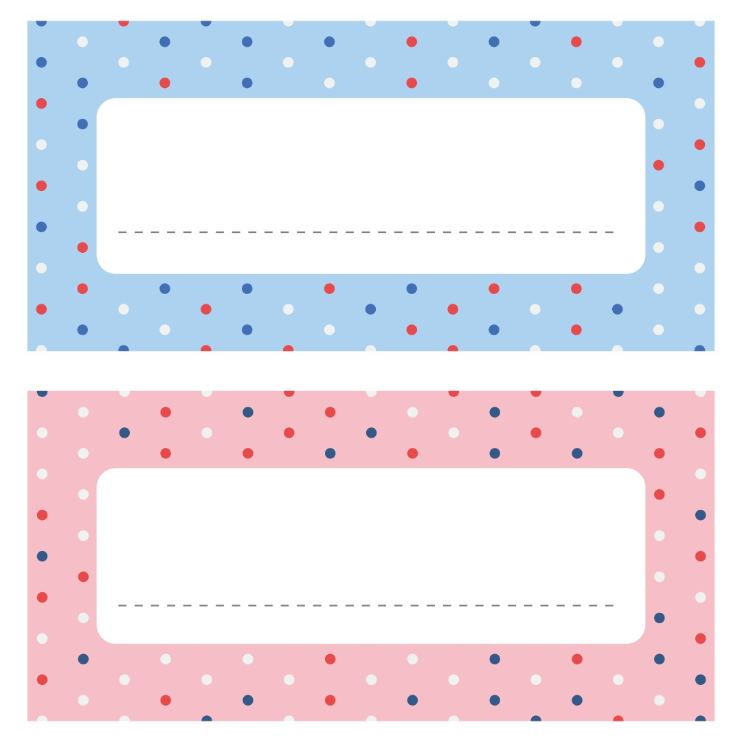 This is an image of Free Printable Cubby Tags inside scrapbook printable