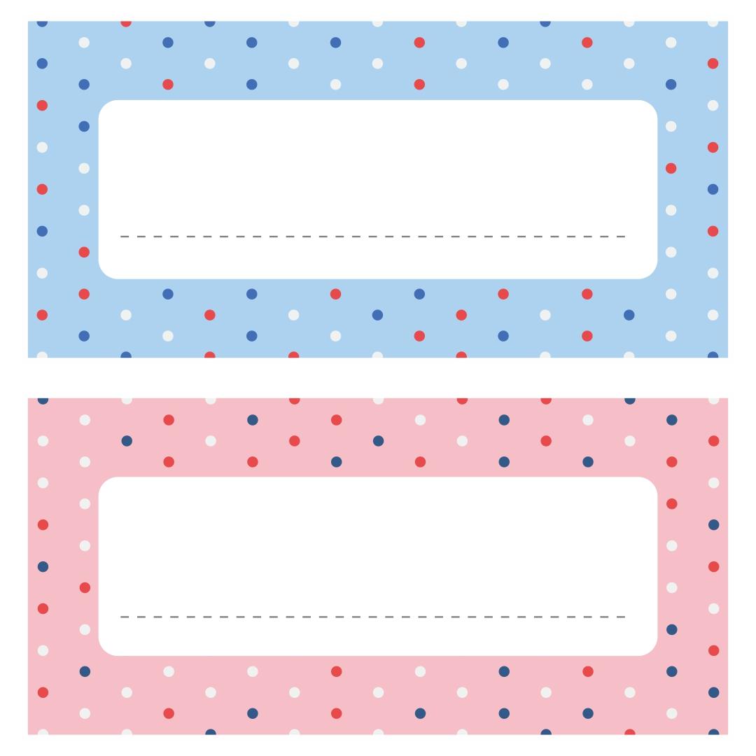 7 Images of Free Printable Name Tag Borders