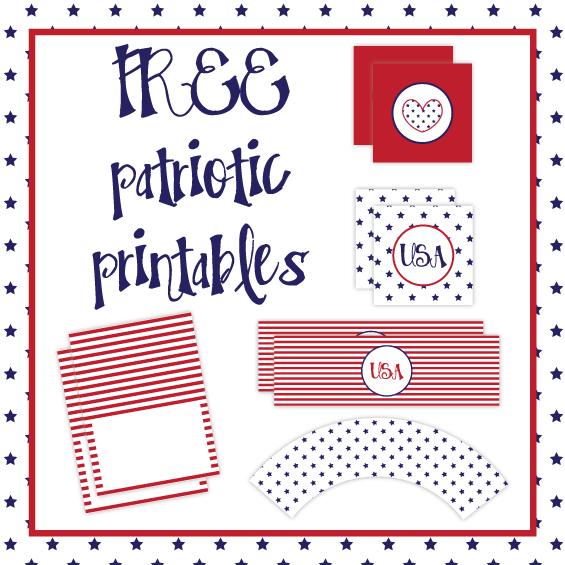 6 Images of Free Patriotic Printables