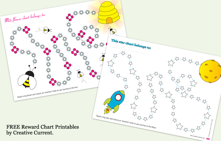 potty training sticker charts