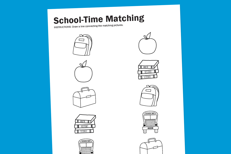 6 Images of Free Printable School Worksheets