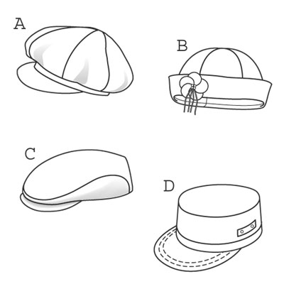 7 Images of Hat Free Printable Sewing Patterns