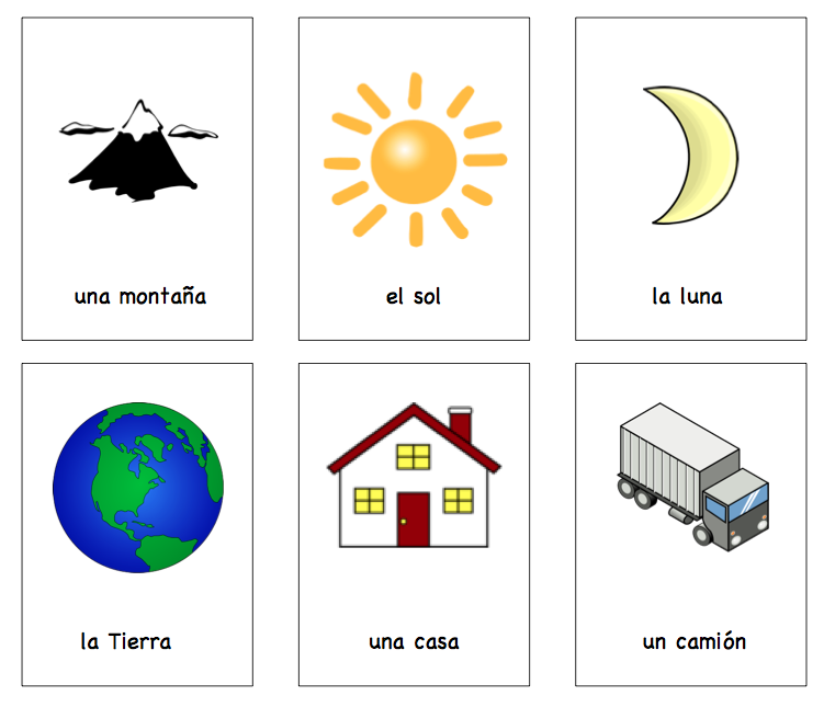 7 Images of Printable Spanish Games