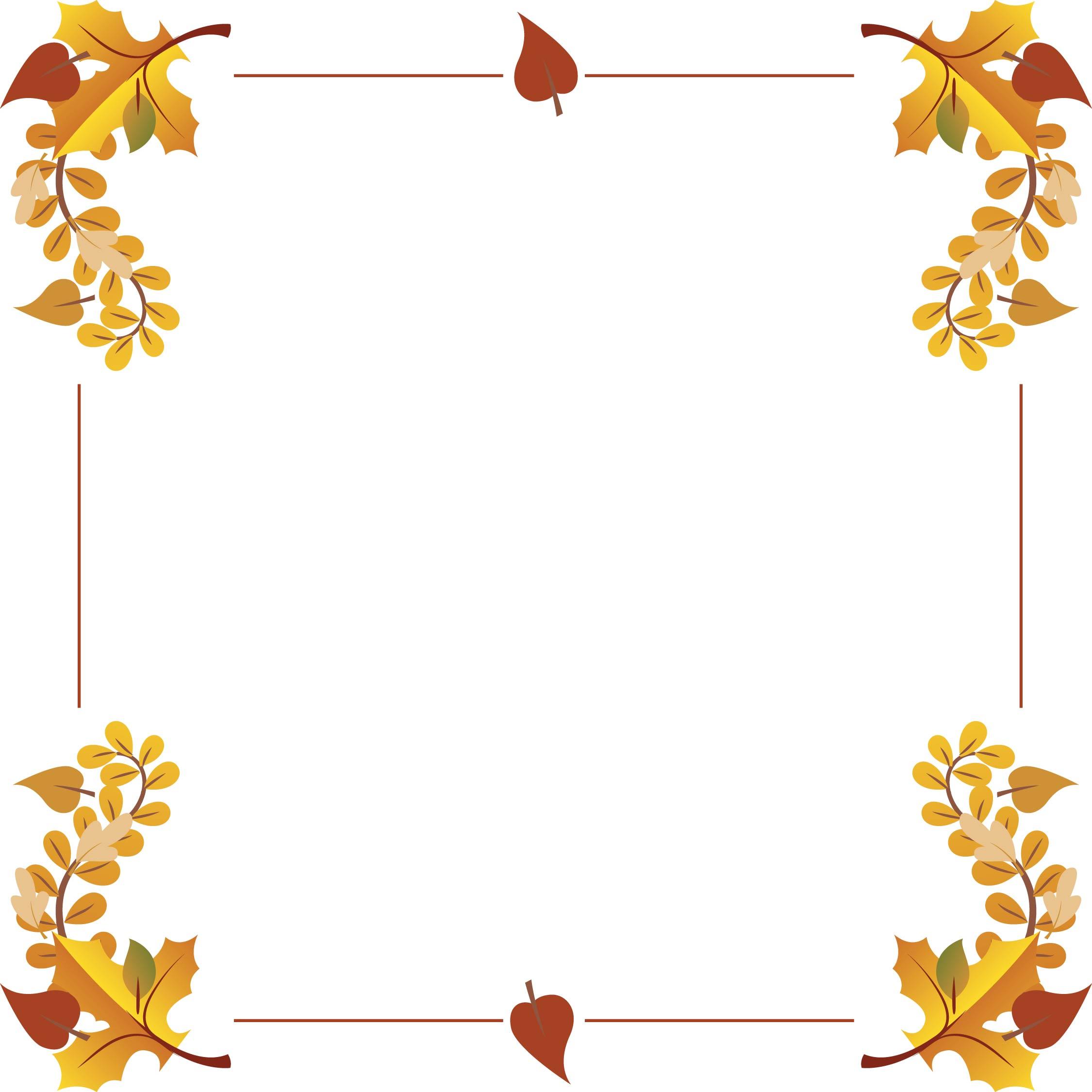 Free Printable Thanksgiving Clip Art Borders