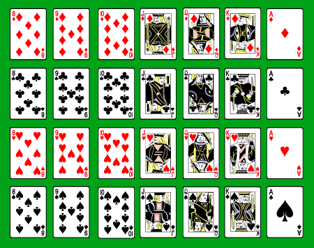 8 Images of Free Printable Deck Of Cards