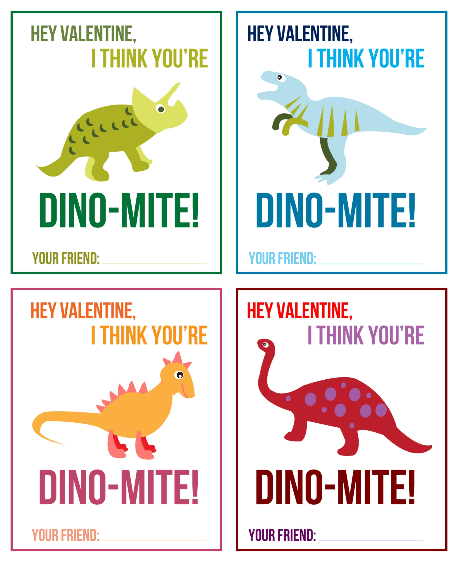 Funny Valentines Day Cards Printable