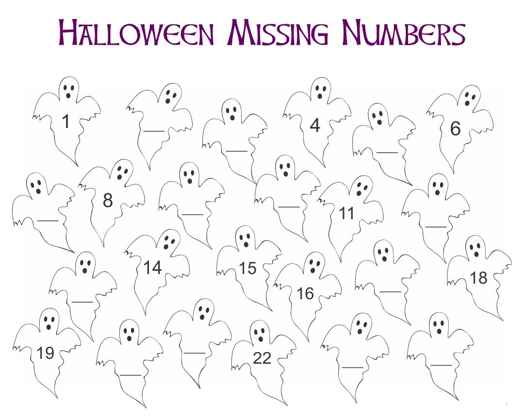 Halloween Worksheets Printables