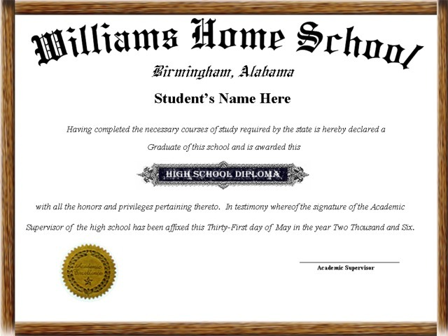 high school diploma templates for free - 6 best images of high school diploma printable fake high
