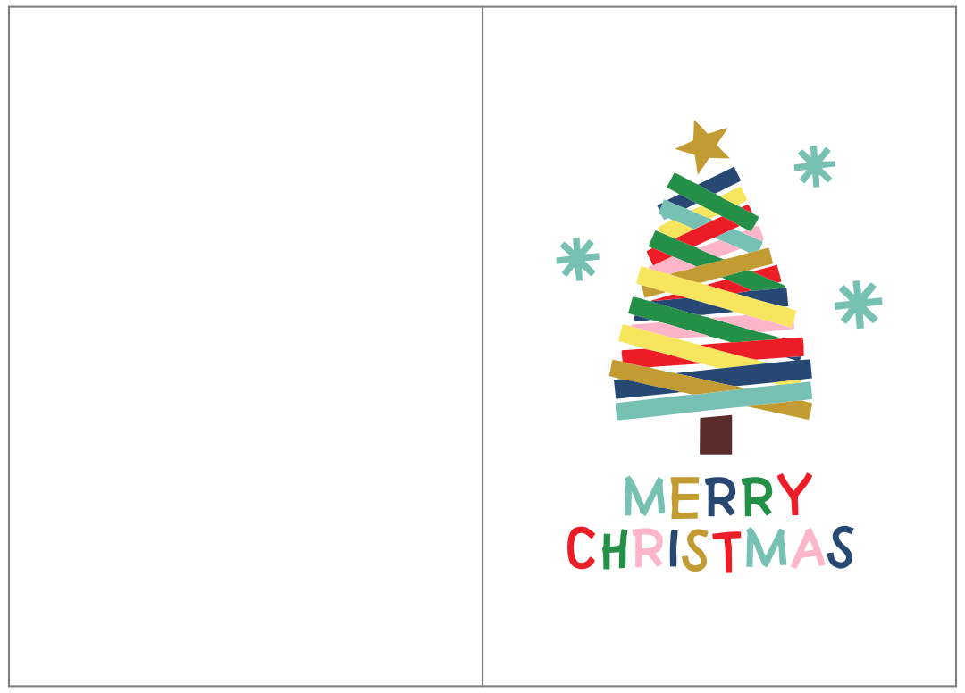 Kids Christmas Cards Printables