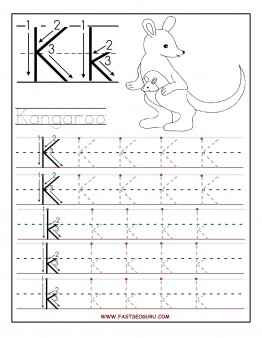 Worksheets Pre K Alphabet Tracing Worksheets preschool alphabet worksheets tracing intrepidpath 5 best images of printable letter k worksheets