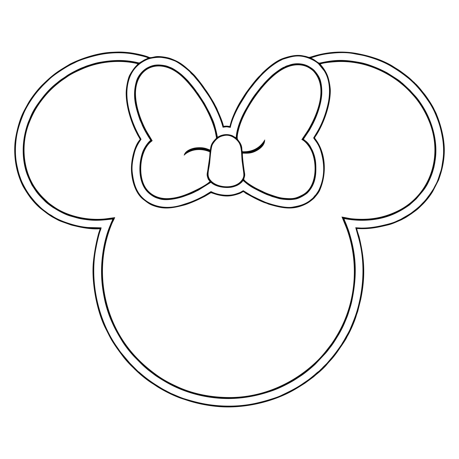 Minnie Mouse Printable Template