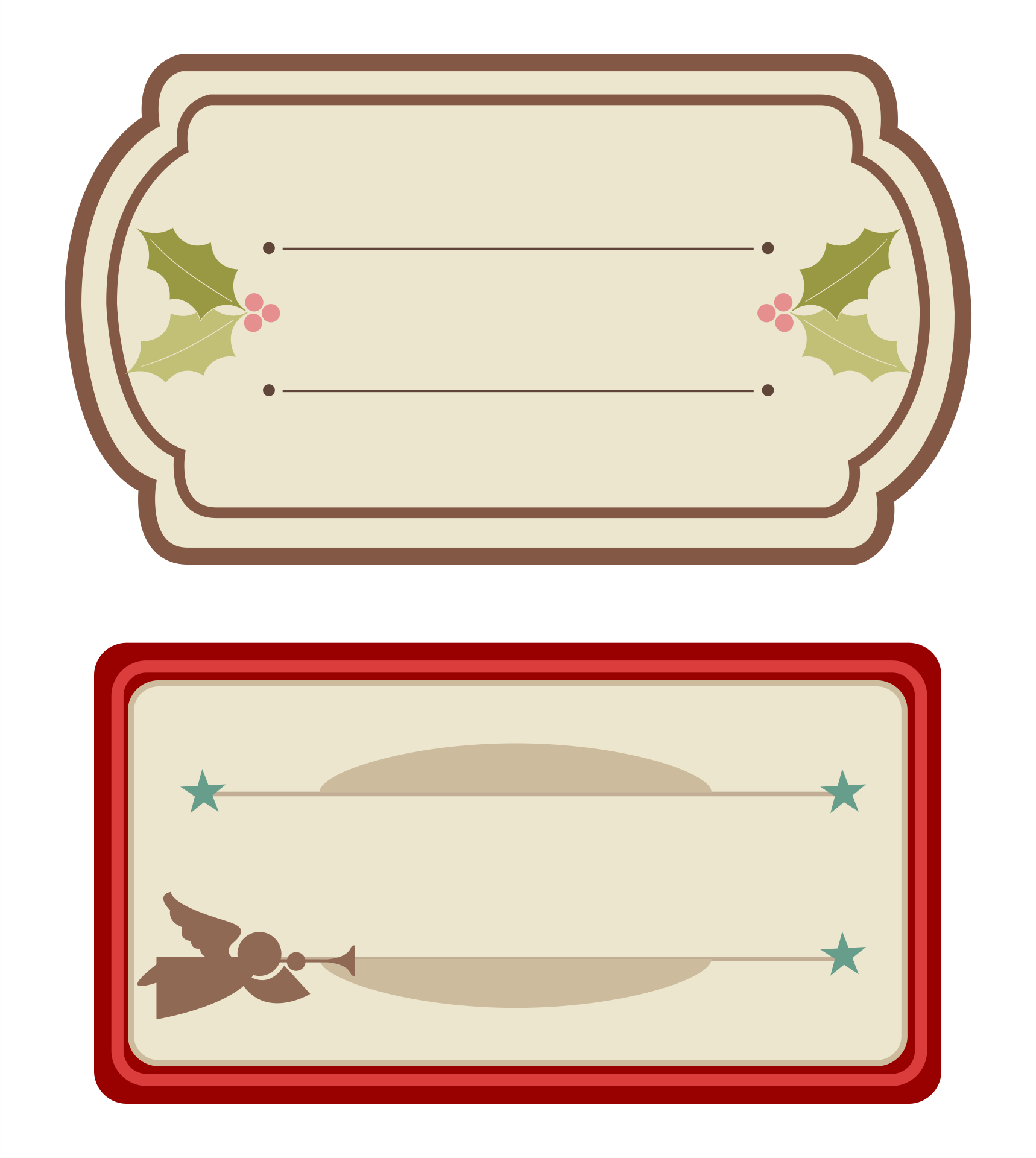 Name Tag Label Templates