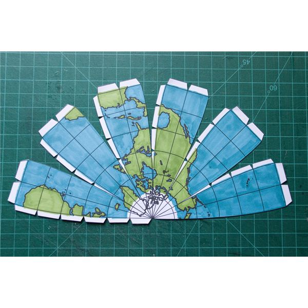 6 Images of Globe Printable Pattern