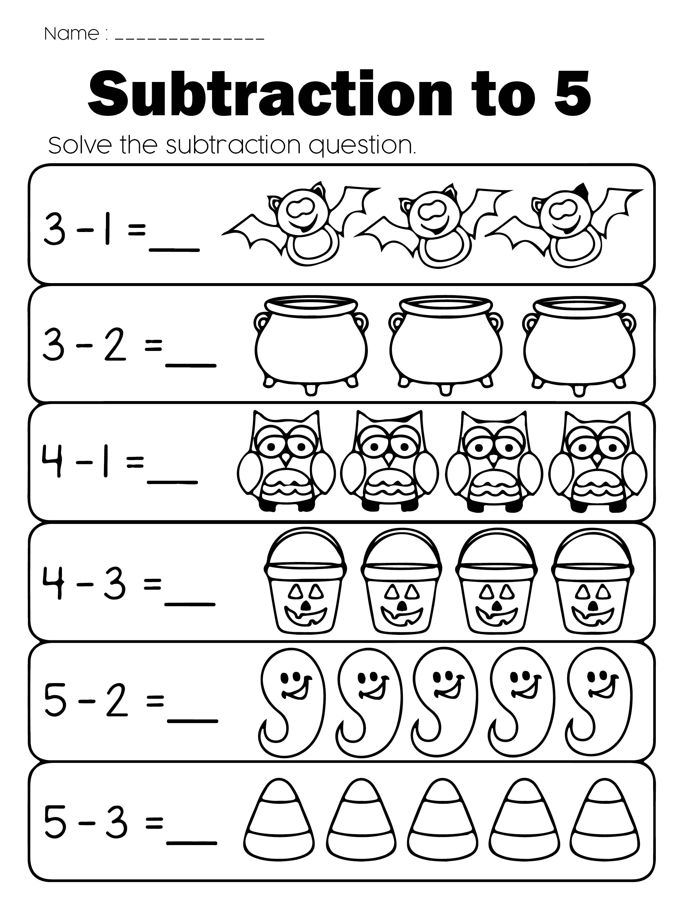 All Worksheets Halloween Worksheets For Preschoolers Printable – Halloween Worksheets for Preschool