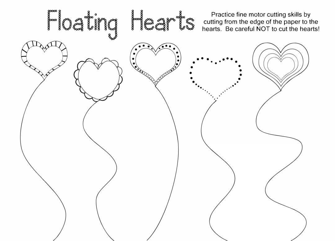 Preschool Printable Cutting Pages