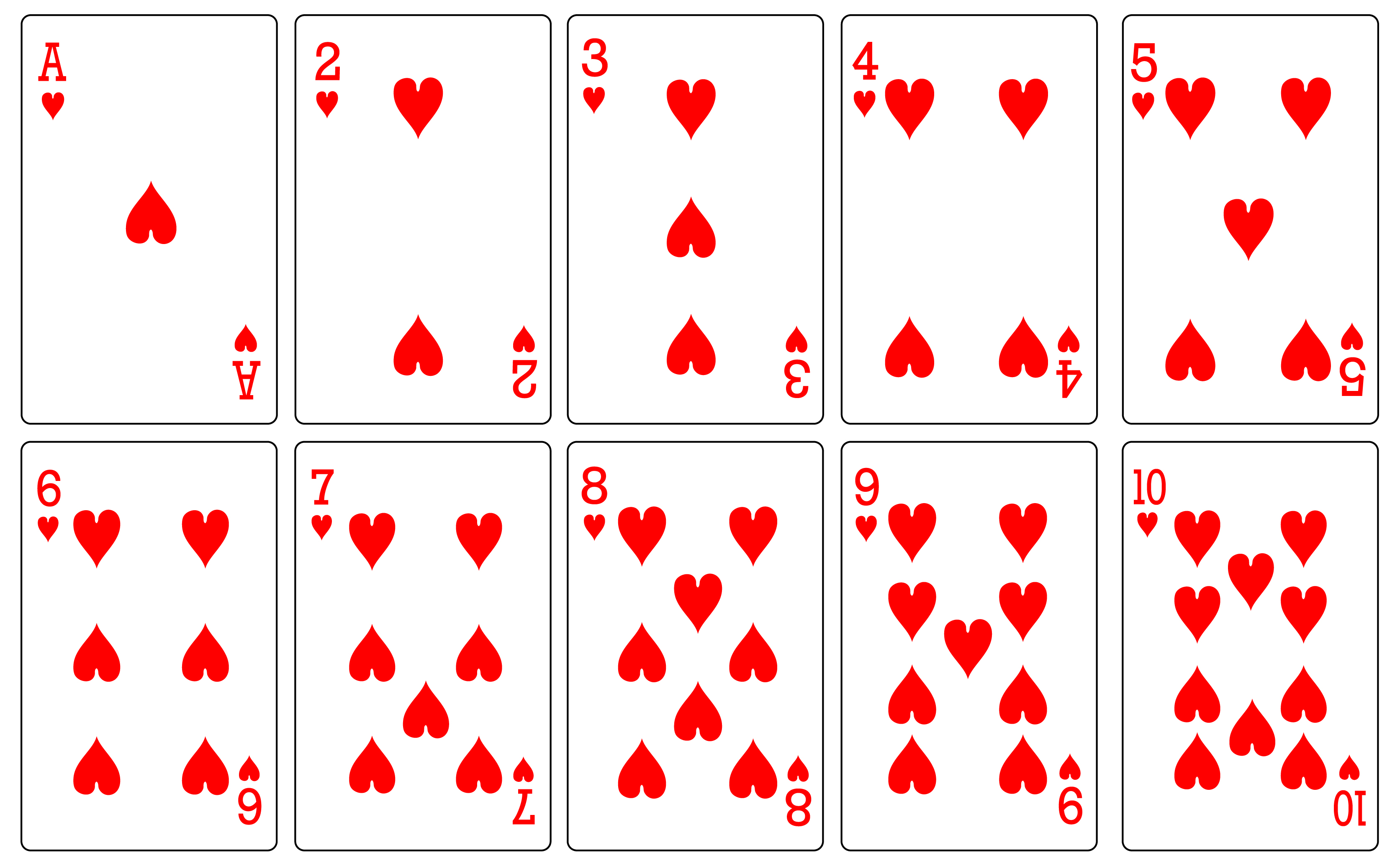 8 best images of free printable deck of cards free for Playing cards coloring pages