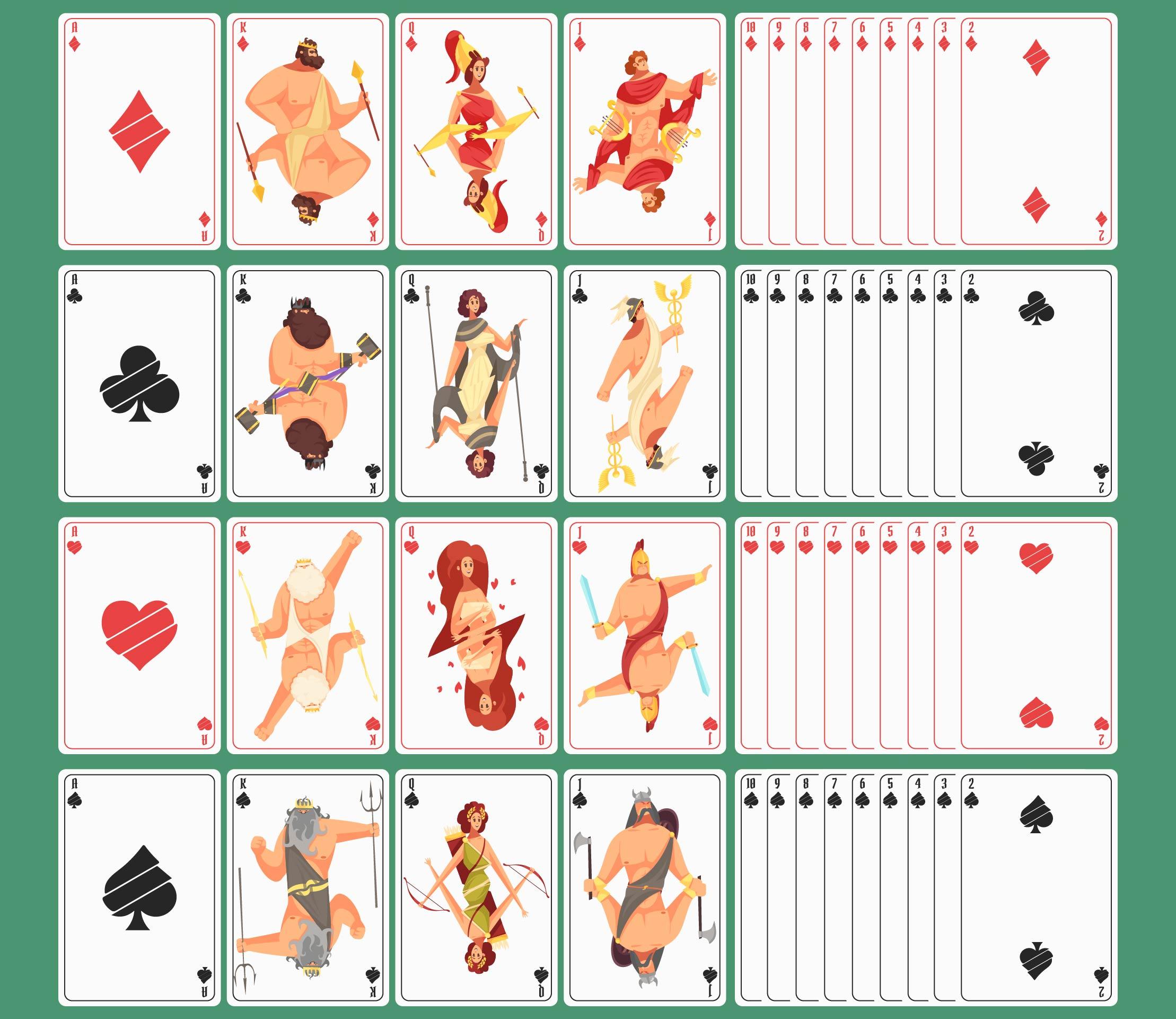 Spielkarten Ausdrucken