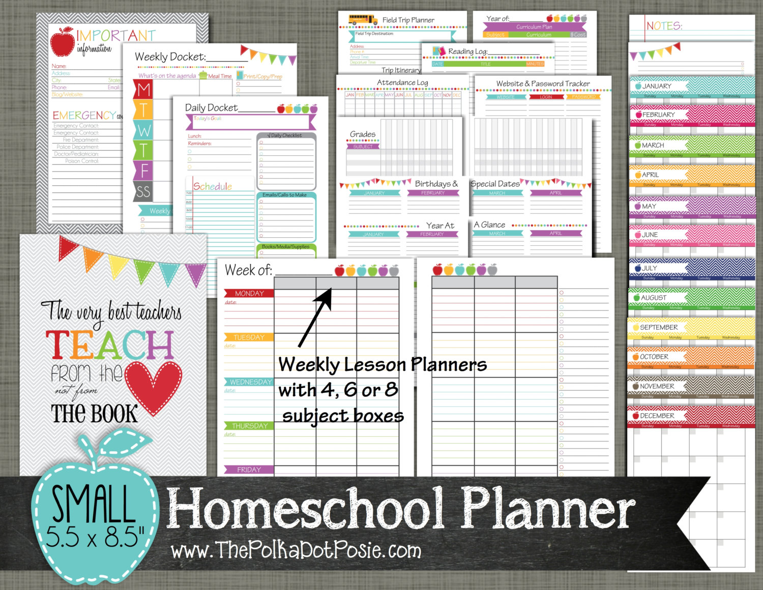 9 best images of homeschool lesson planner printable for Home planner online free
