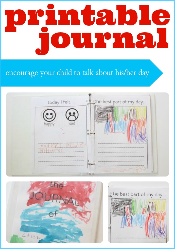 Printable Journal Pages Kids