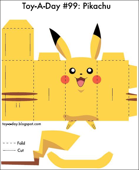 Printable Pokemon Paper Crafts