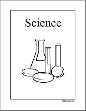 Printable Science Notebook Cover Page
