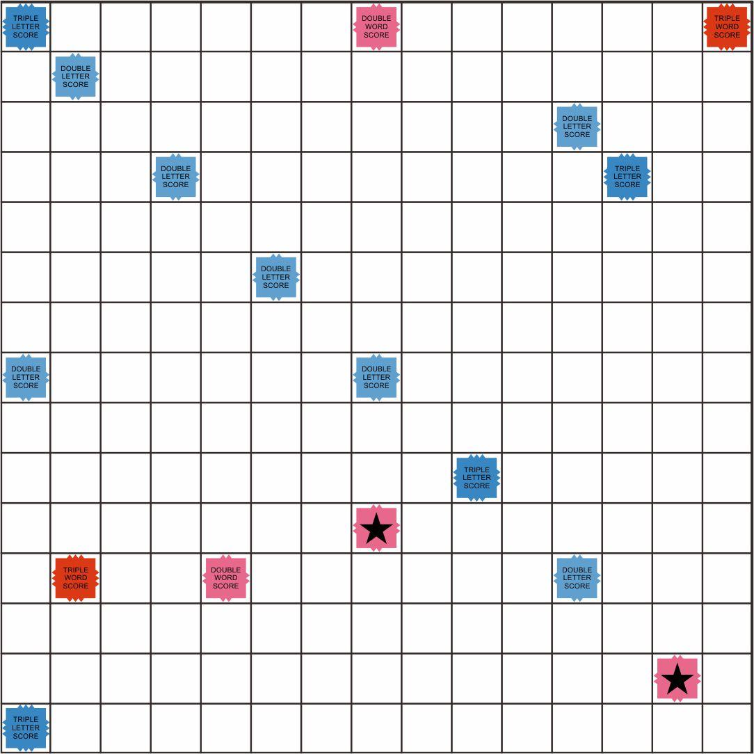 Printable Scrabble Board Tiles