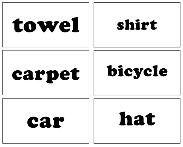 8 Images of Printable Sight Word Cards