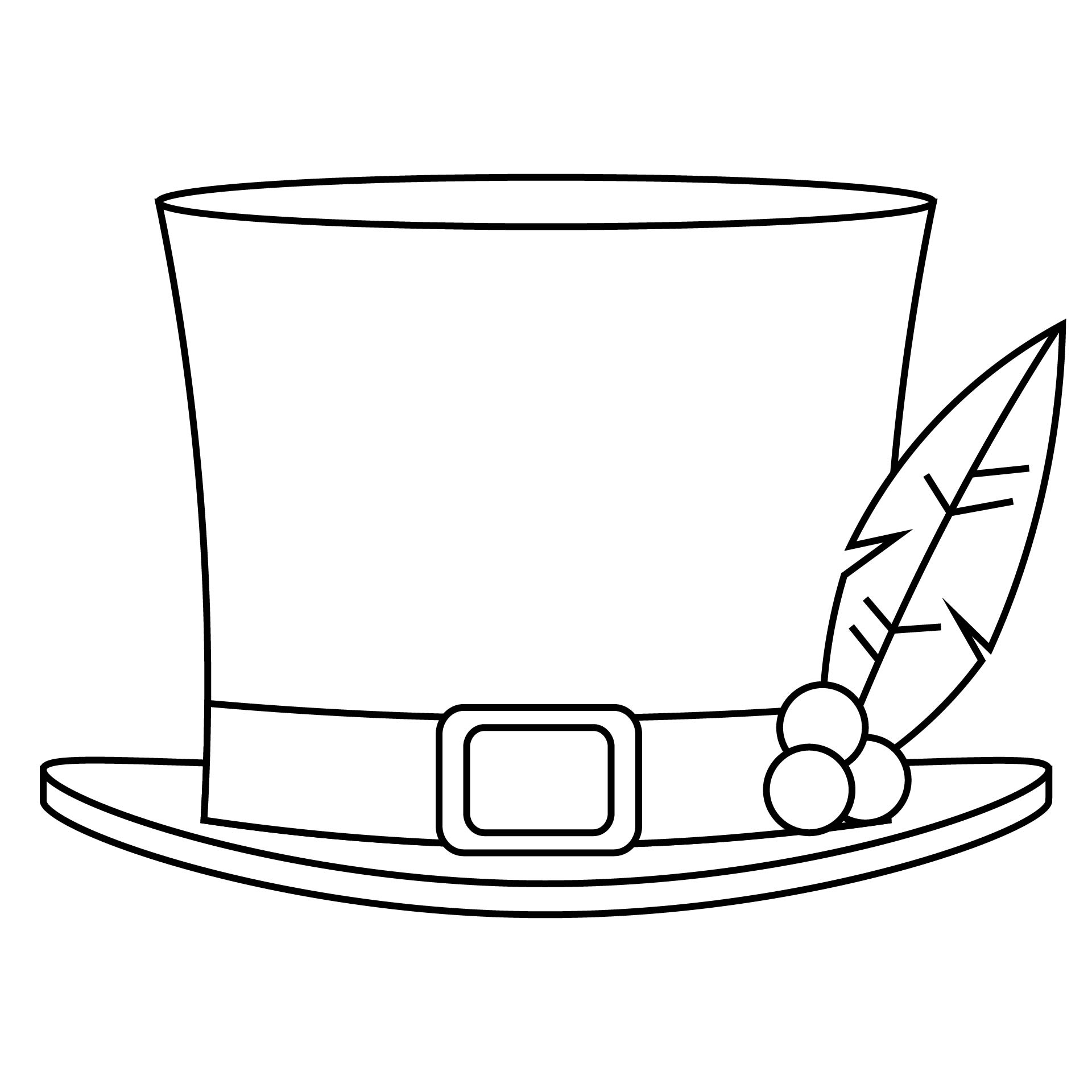 7 Images of Snowman Hat Printable