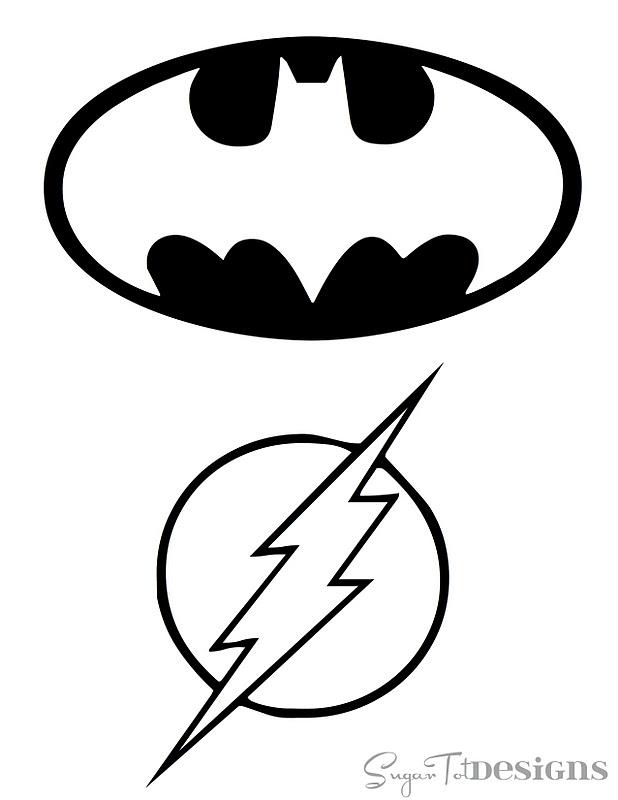 5 Images of Free Superhero Printable Door Tags