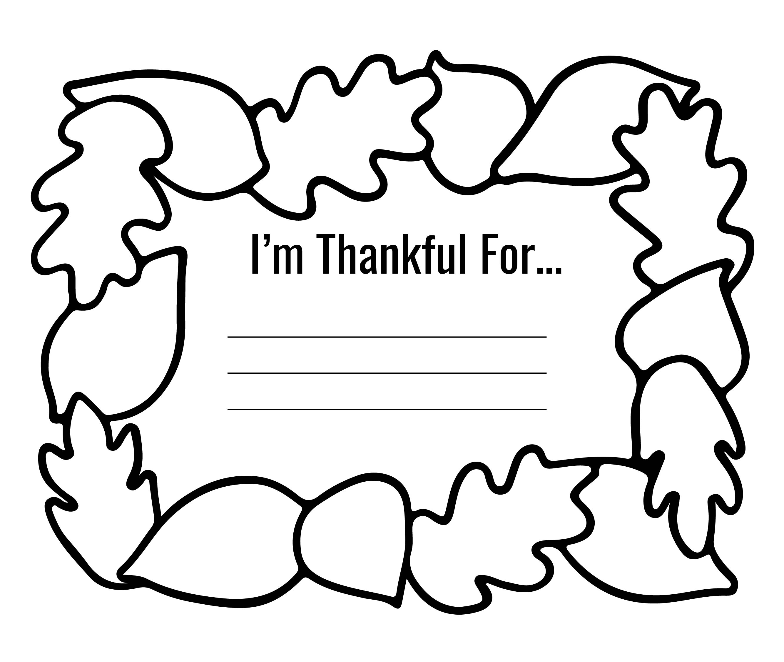 Thanksgiving Printable Placemat Templates